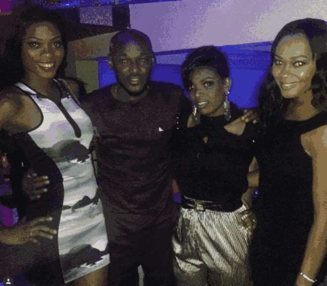 Annie Idibia's welcome party