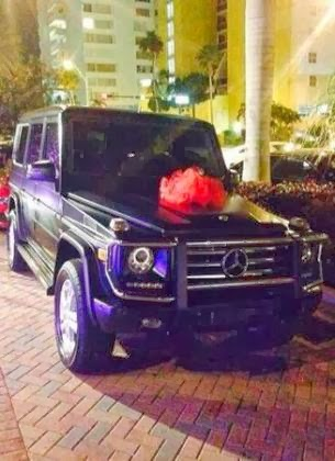 Birdman buys his daughter a 2014 G Wagon for her 16th birthday