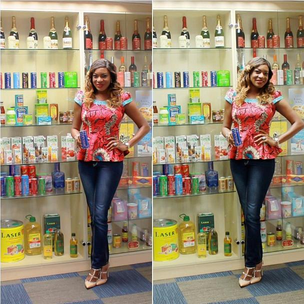 Chika Ike is the Face of Bullet Energy Drink 2014 Naija Vibe