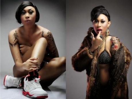 Cynthia Morgan new shoot