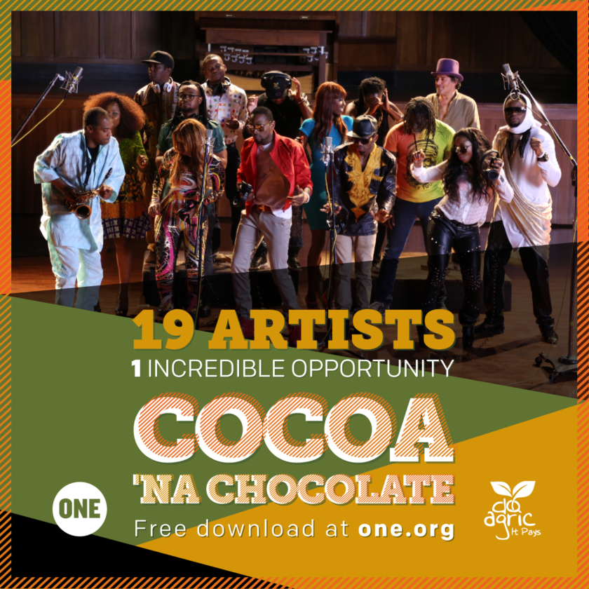 D'Banj, Femi Kuti, Fally Ipupa, Omawumi, Diamond & more - Cocoa Na Chocolate [AuDio]