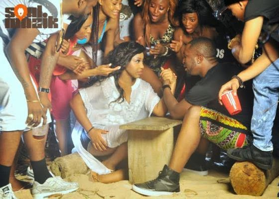 Darey's 'Special fever' video featuring Rita Dominic
