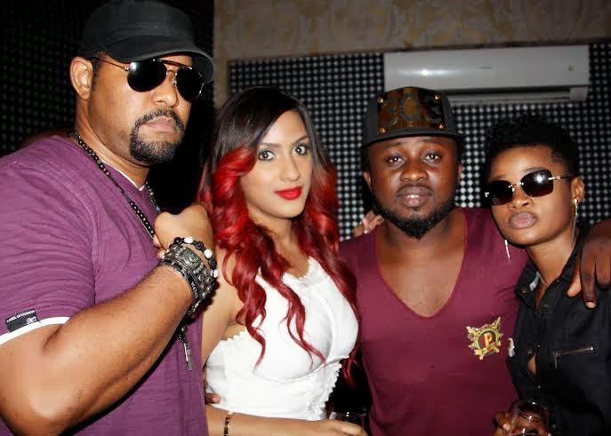 Friends at Juliet Ibrahim's star studded birthday party