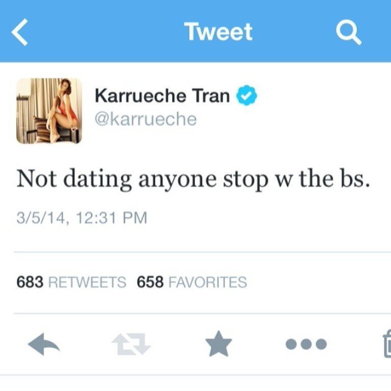 I am dating no one - Karrueche confirms split from Chris Brown