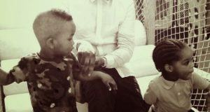 Ice Prince, son and Boluwatife