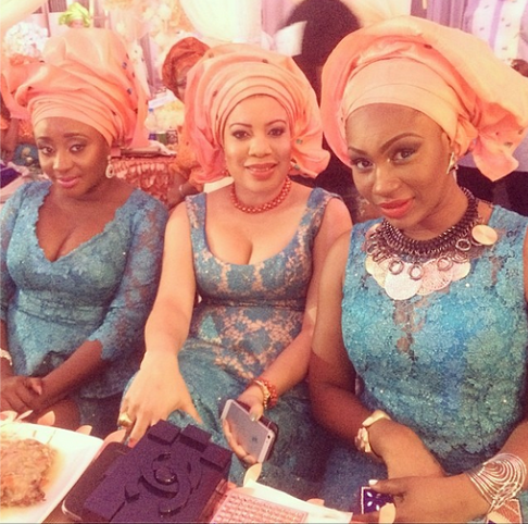 Ini edo and Monalisa Chinda