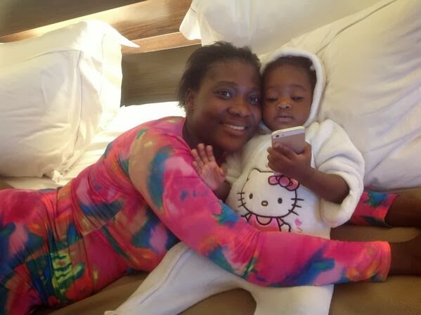 Mercy Johnson and Purity