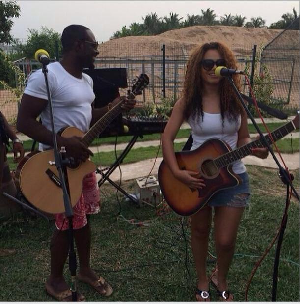Nadia Buari & Jim Iyke turn musicians