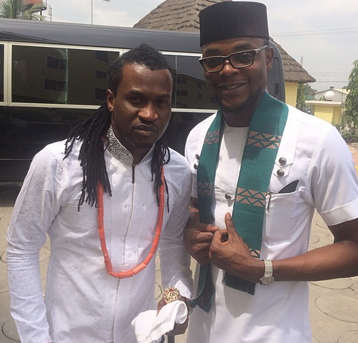 Paul Okoye and Olamiju Alao Akala
