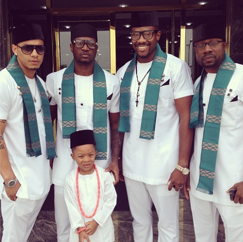 Peter Okoye and friends