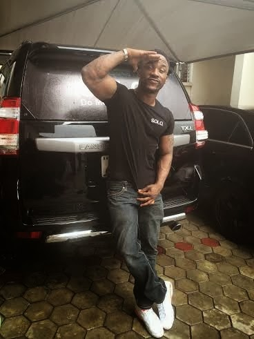 Solo phone gives Iyanya Prado SUV