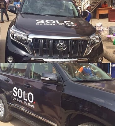 Solo phone gives Iyanya brand new Prado SUV
