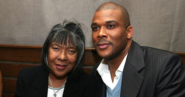 Tyler Perry and his mum