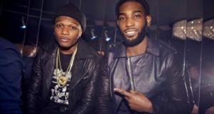 Wizkid chilling with Tinie Tempah