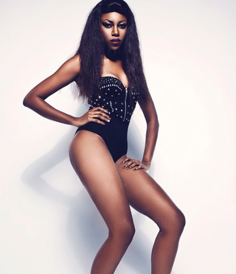 Yvonne Nelson looking sexy