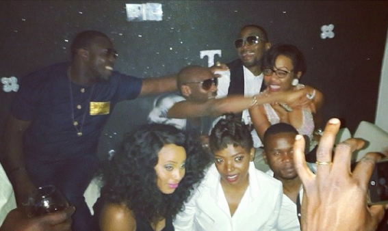 AY throws birthday party for wifey