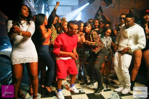 BTS photos from Wizkid and LAX 'Ginger' video