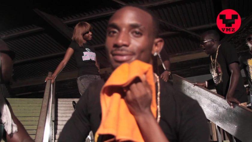 Behind the scene photos from Example remix (Kanipe) video shoot
