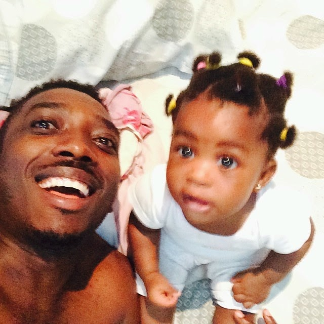 Bovi and daughter looking adorable