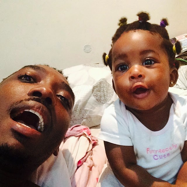 Bovi and daughter looking so adorable