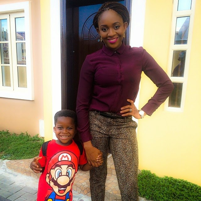 Christabel and her son
