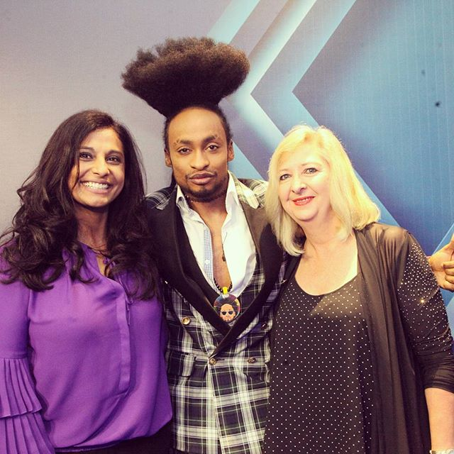 Denrele's new crazy hairstyle