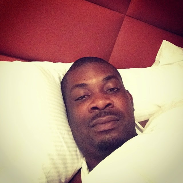 Don Jazzy in bed