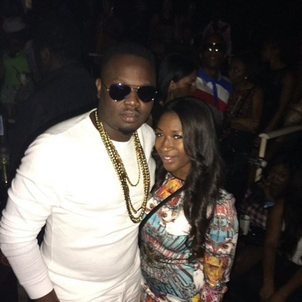 Tiwa and Teebillz pre-wedding party in Dubai tonight