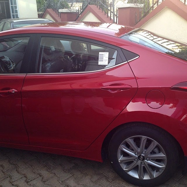 Ese Walters gets brand new car as wedding gift