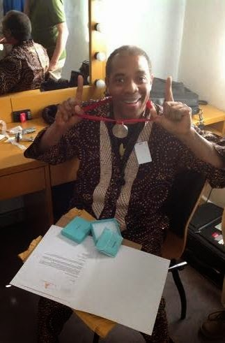 Femi Kuti gets a medal from Grammys after four nominations