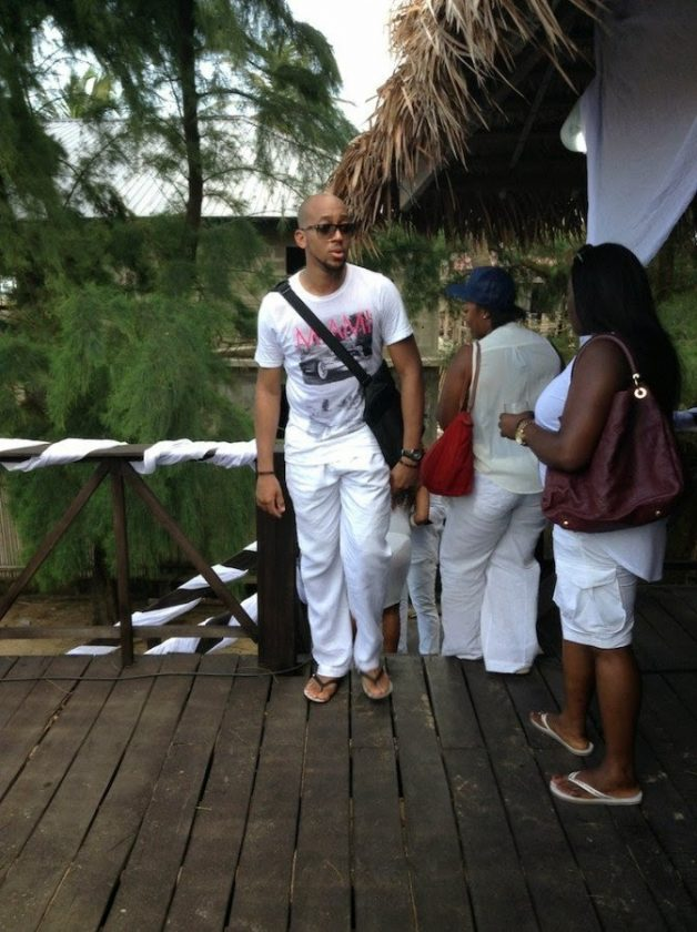 Hennessy all white beach party