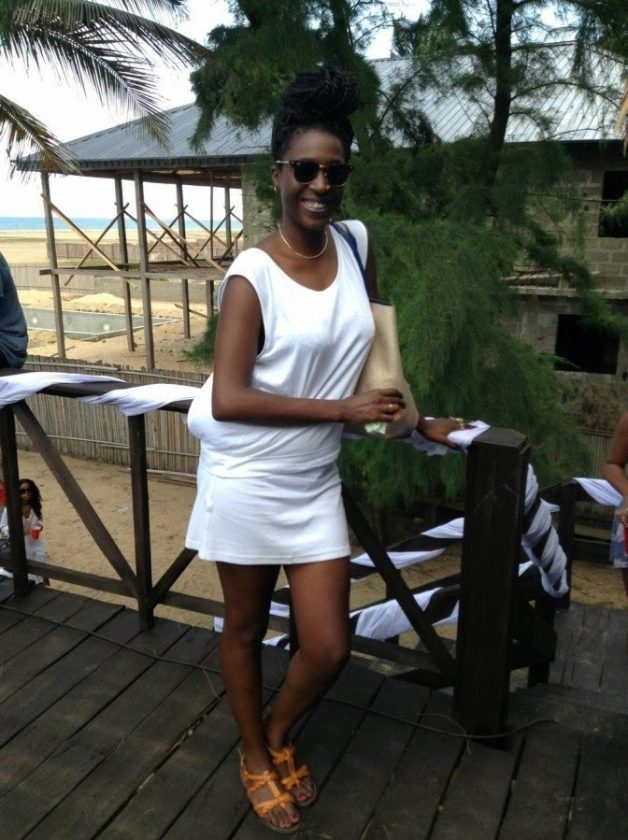 Hennessy's all white beach party