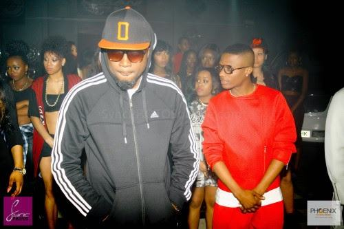 Ice Prince - Behind the scene photos from Wizkid and LAX 'Ginger' video