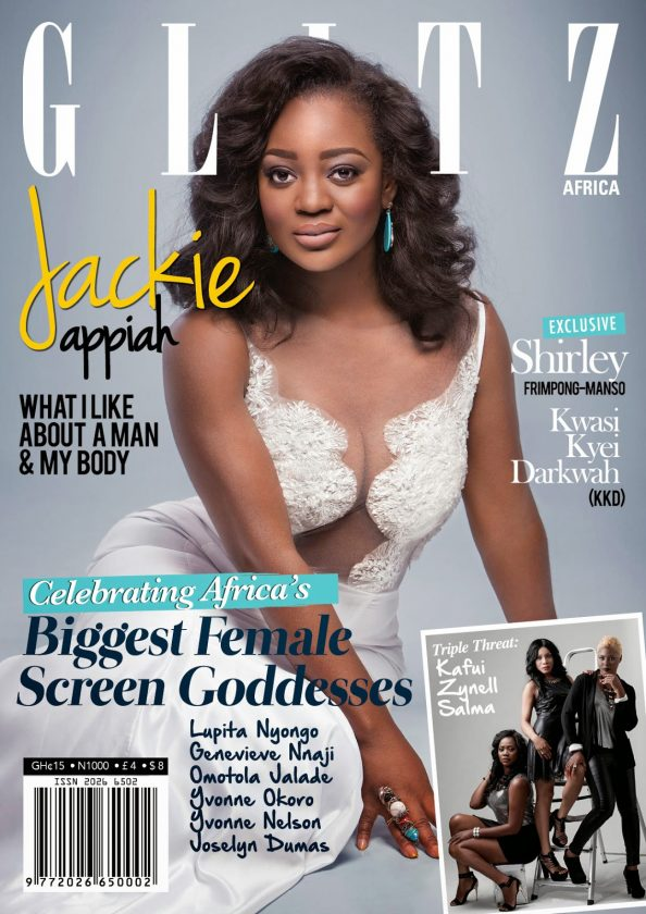 Jackie Appiah cover Glitz Africa