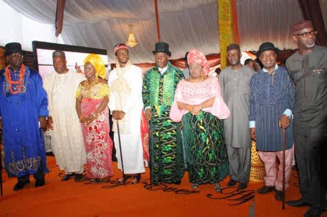 Jonathan daughter's marriage ceremony
