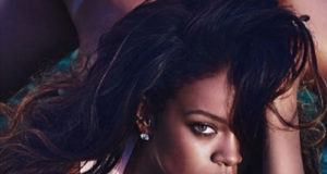 Rihanna strips for Lui magazine cover