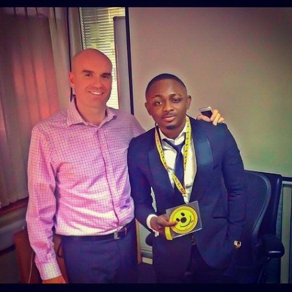 Sean Tizzle signs endorsement deal with MTN