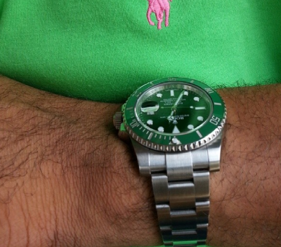 This is the Rolex Submariner special edition worth $11,000