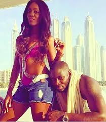 Tiwa Savage and hubby loved up