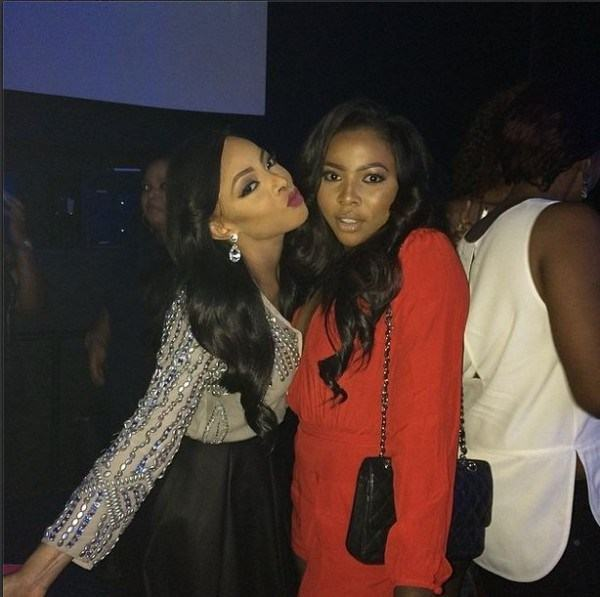 Tiwa Savage's Pre wedding party