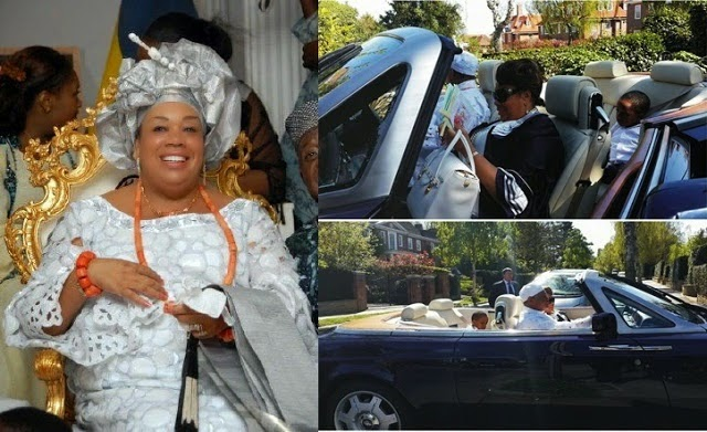 Chief Gabriel Igbinedion gives wife N40M Bently Continental GT as birthday gift