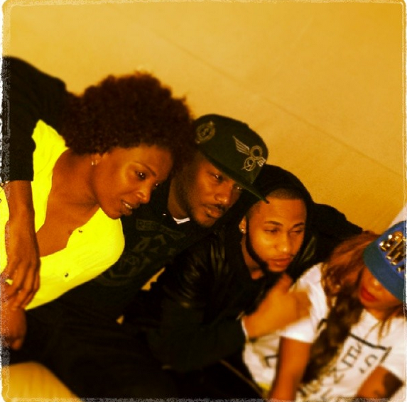 2face and Annie spotted with Toyin Lawani and her boo
