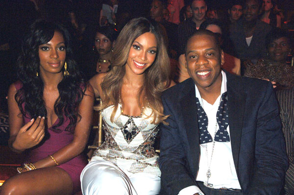 Beyonce, Solange Knowles & Jay Z