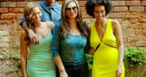 Beyonce, Tina, Solange and Jay Z