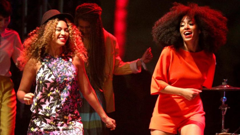 Beyonce shares photos of Solange