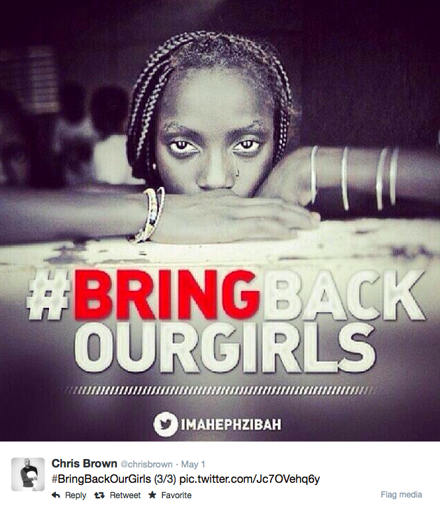Chris Brown Bring Back Our Girls