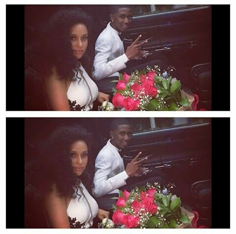 Christian Combs and his date