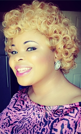 Dayo Amusa shows off her new look