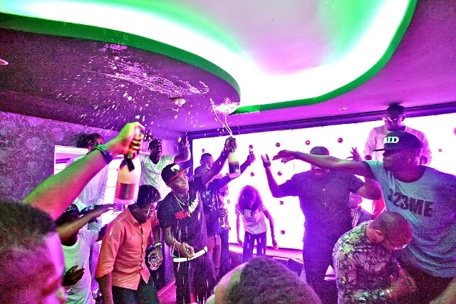Dr sid' birthday party with the Mavins at Quilox