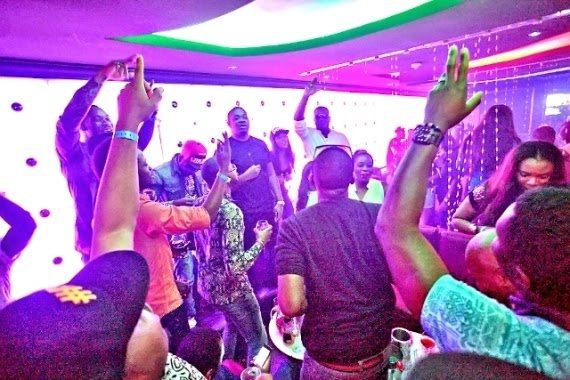 Dr sid's birthday party with the Mavins at Quilox